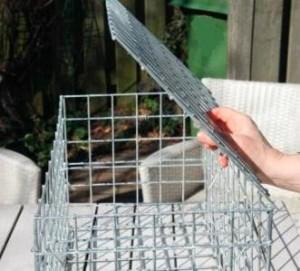 Cage gabion - Côté Clôture