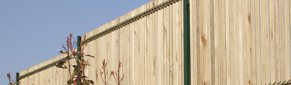 occultation clôture bois