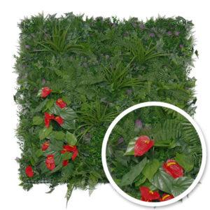 Idée Grillage, nouveauté mur végétal Tropical