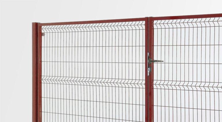 Osez le rouge aussi sur vos portails et portillons